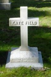 Kate Field headstone
