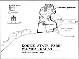 Kauai-Kokee-CCC-camp-location-map(NPS)