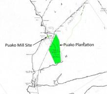 Kawaihae to Anaehoomalu-DAGS2786-zoom-zoom-noting Puako Plantation Site