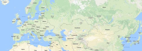 Kazakhstan - map