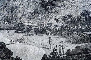 Kealakekua-John Webber art-1779