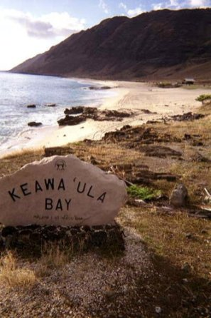 Keawaula Bay Sign