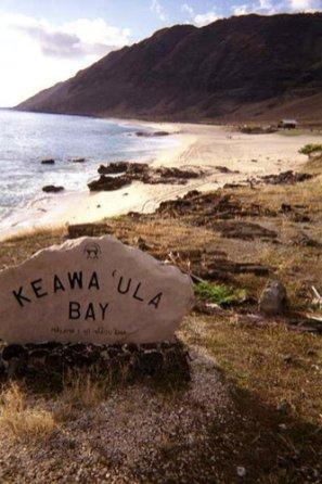 Keawaula Bay Sign