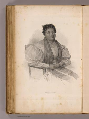Kekauluohi. Sketched by A. T. Agate; engraved by Welch and Walter