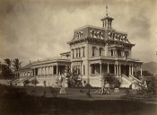 Keoua Hale, Princess Ruth Keelikolani's mansion-was_Honolulu_High_School-forerunner_to_McKinley