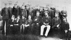 King Kalakaua on USS Charleston from Honolulu to San Francisco seeking health-Nov 28 1890