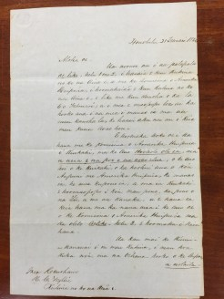 King Kamehameha III to Wyllie-Hawaiian-Feb_21,_1854-1