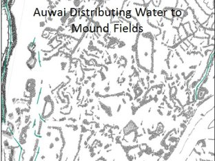 Koloa_Field_System-auwai flow through fields and exit to mound fields for sweet potatoes and other dryland crops-Hammatt