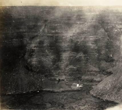 Konishi Cable Cage into Halemaumau-auburn