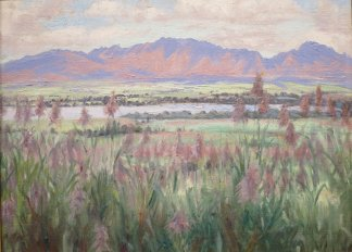 Koolau_Mountains_from_Wahiawa_by_Helen_Thomas_Dranga