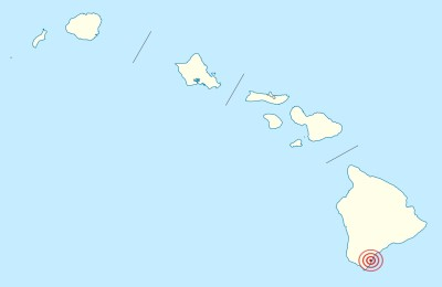 Largest Earthquake in Hawaiʻi - Magnitude 7.9, Kaʻū, Island of Hawaiʻi, April 2, 1868-400