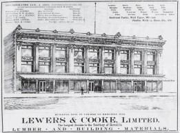Lewers & Cooke Ad-January 1, 1902