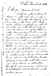 Liholiho to ABCFM, March 18, 1823-1