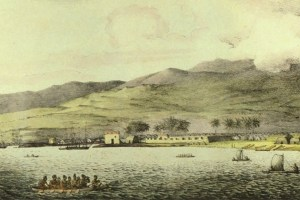 Fort Kekuanohu (Fort at Honolulu)