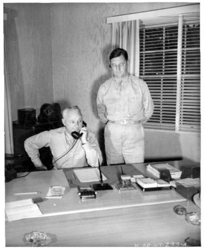 Lt Gen Delos C Emmons, Commanding General, Hawaiian Dept - Brig Gen Thomas H Green, Military Governor-Mar. 30, 1943