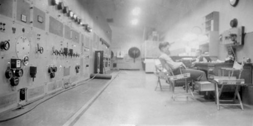On duty inside lo Freq F. O'Neill 1946.