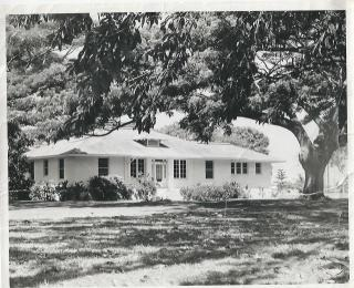 Lualualei-Officer In Charge's Home 1968