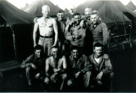 Marines of A-1-24 at Camp Maui, 1944