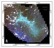 Maro Reef IKONOS image