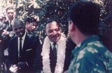 Martin Luther King in Hawaii-1959