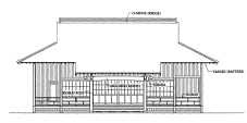 Maui-Jinsha-Mission-building-front elevation-Mason