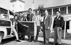 Members of the Hawaiian Future Farmers of America visited Cal Poly in October 1953 (CalPoly)