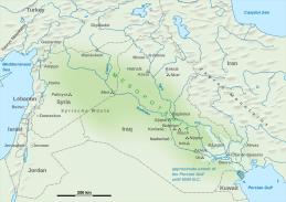 Mesopotamia-map