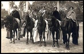 Mid-Pacific Carnival-Pau_Riders-1914
