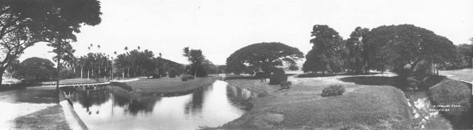 Moanalua Park panorama. 1880s (HSA)