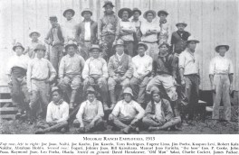 Molokai Ranch Employees-1913-Cooke