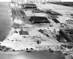 NAS Kaneohe after Japanese Raid