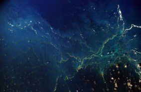 NASA astronaut image of Maro Reef