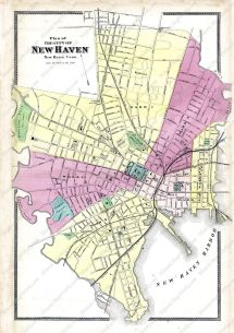 New Haven-map