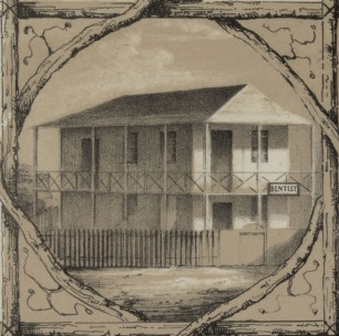 No._3._View_of_Honolulu._From_the_Catholic_church._(c._1854)-Portion-Dentist