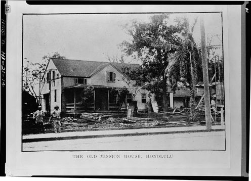 'OLD MISSION HOUSE' (LOC)-photo ca 1907