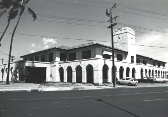 OR&L Station 325 N. King St. Honolulu, late 1940s