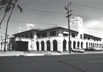 OR&L Station 325 N. King St. Honolulu, late 1940s