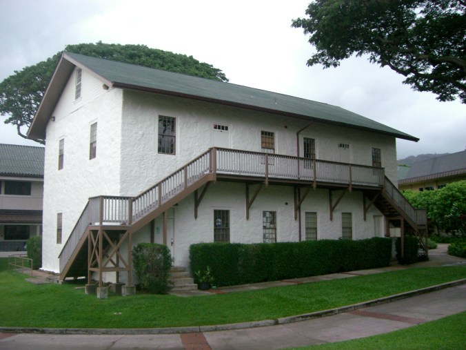 Oahu_College-Old_School_Hall_at_Punahou_School