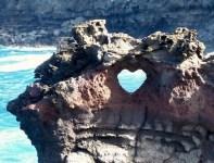Ocean Arch Heart in Maui, Hawaii imgur