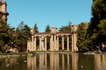 Palace of Fine Arts-originally constructed for the 1915 Panama-Pacific Exposition