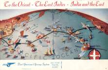Pan Am brochure captures the romance of flying on a Boeing 314 clipper to Hawaii-Smithsonian