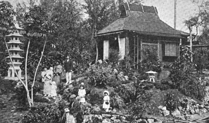 Part of Ishii's Pan-Pacific Gardens-Pan-Pacific Union March 1923