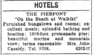 Pierpont Hotel Ad-Hnl_SB-Sept 10, 1917