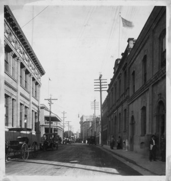 Police Station-on right-at Bethel-PP-38-8-008-1911