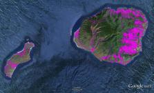 Pre-contact Footprint-Kauai-Niihau-GoogleEarth-OHA-TNC