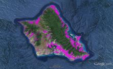 Pre-contact Footprint-Oahu-GoogleEarth-OHA-TNC