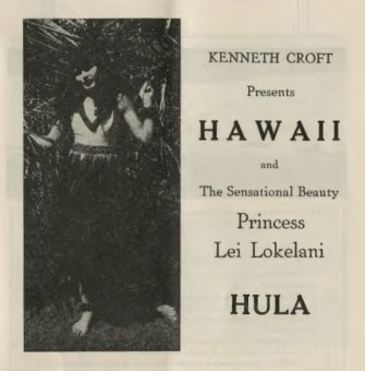 Princess Lei Lokelani Promotional