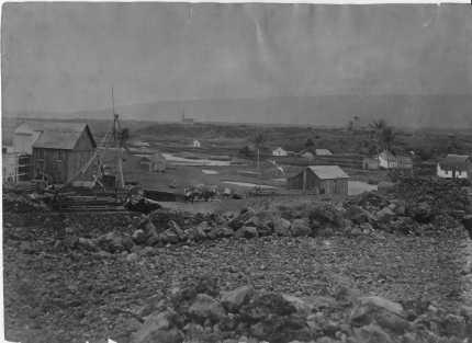 Punaluu village, Hawaii-S00084-1880