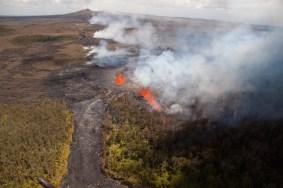 PuuOo eruption-flow
