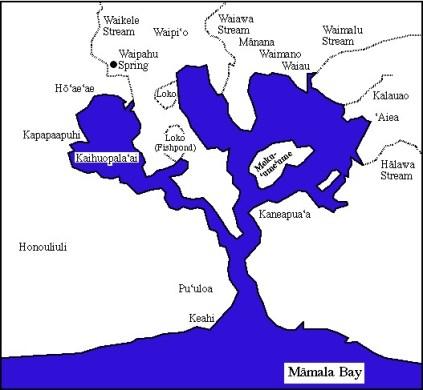 Puuloa-map